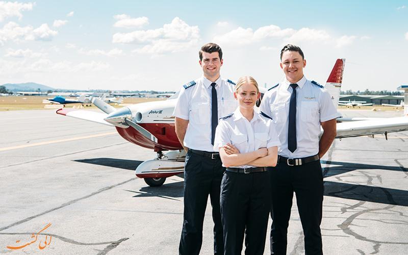 آشنایی با مزایا و معایب شغل خلبانی!
