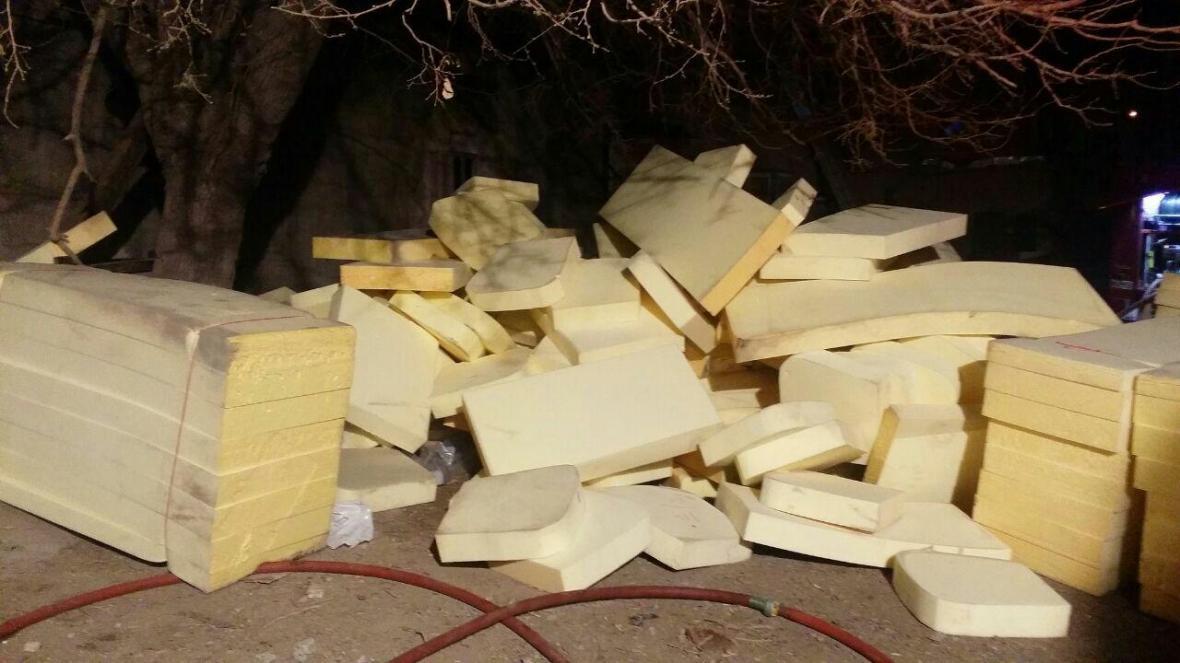 ملکی در تبادل نظر با خبرنگاران اطلاع داد آتش سوزی کارگاه مبل سازی در بزرگراه آزادگان، فوت کارگر جوان در حادثه