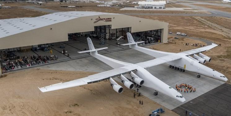 بزرگترین هواپیمای دنیا خاتمه پرواز کرد
