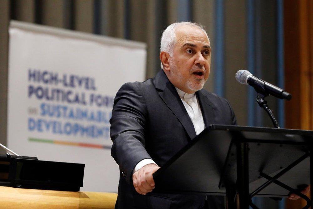 ظریف: آمریکا تعامل با جامعه جهانی را بی اعتبار کرد