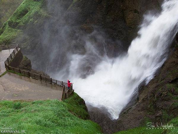 آبشار شلماش سردشت، فرزند خروشان طبیعت
