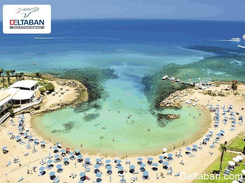 ساحل نیسی قبرس یکی از رمانتیک ترین سواحل دیدنی