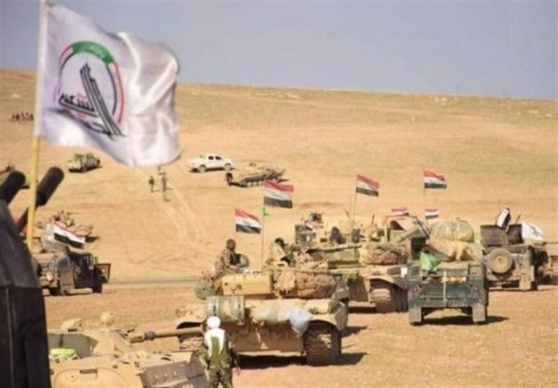 عراق، عملیات امنیتی حشد شعبی در غرب الانبار