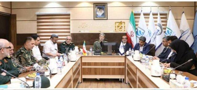 وزیر دفاع بر تکمیل فاز نخست پتروشیمی مکران تاکید نمود