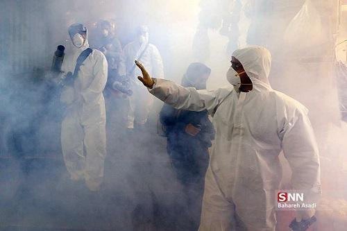 دانشجویان انجمن اسلامی مستقل واحد آبادان بعضی از مناطق این شهرستان را سم زدایی کردند