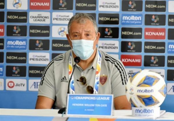 تن کات: اطمینان دارم مقابل پرسپولیس نتیجه می گیریم، از عملکرد AFC ناراضی هستیم